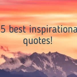 15 best inspirational quotes