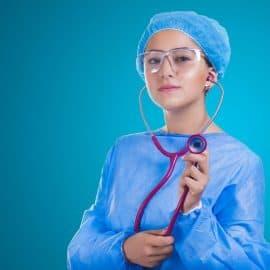 Joke – devoted nurse!