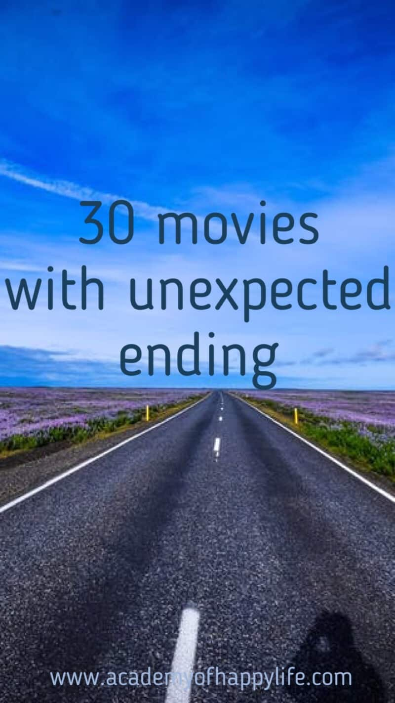 30 movies with unexpected ending. Great films! These films will hold you until the end. Great psychological thrillers. Enjoy watching them. Safe this post to watch all of those films later. Great collection of the best films.