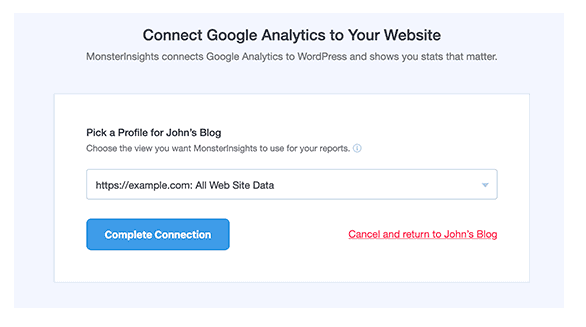 How to instal Google Analytics into the blog